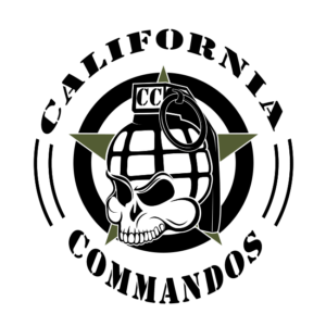 California Commandos Team Logo