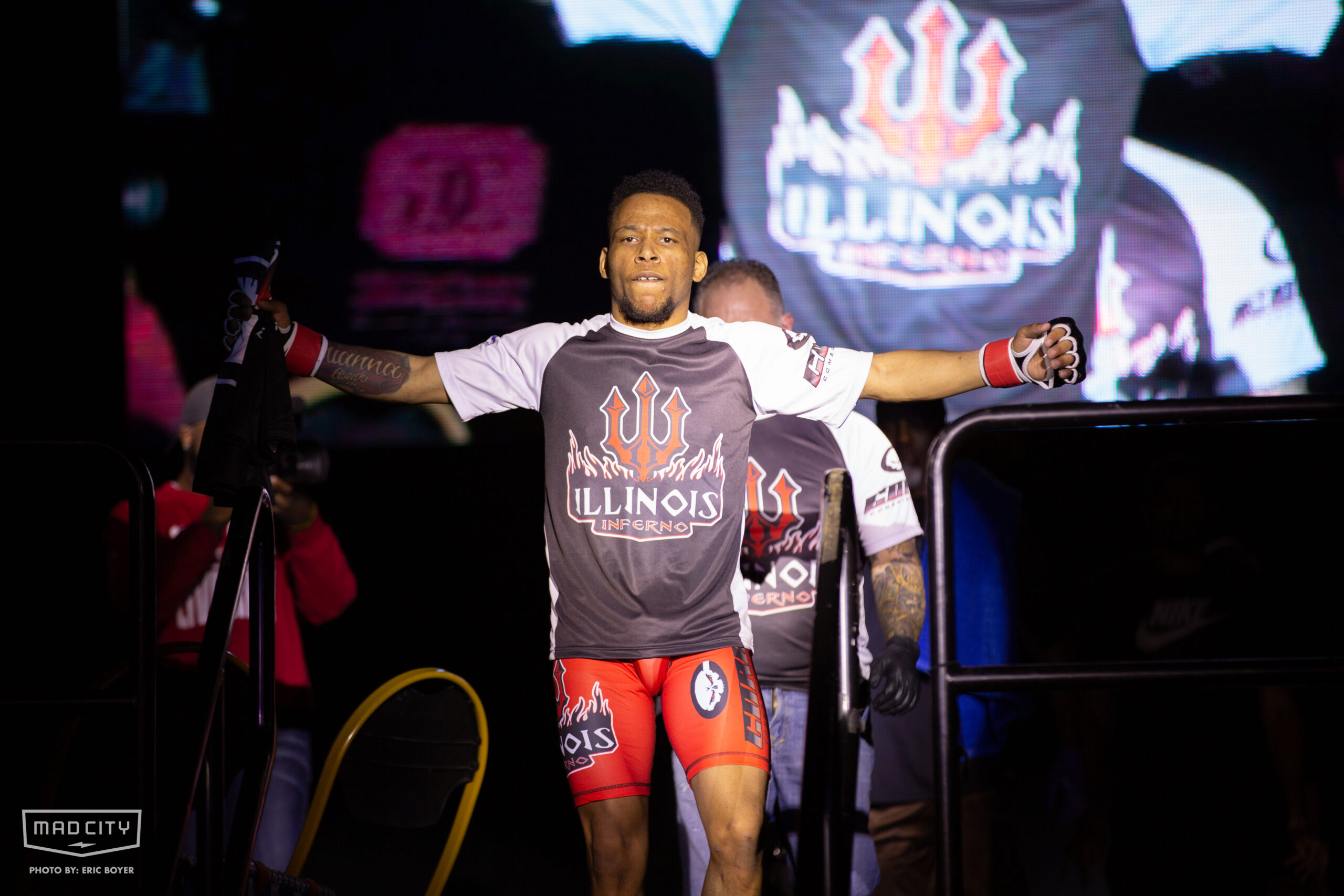 MMA Illinois Inferno fighters